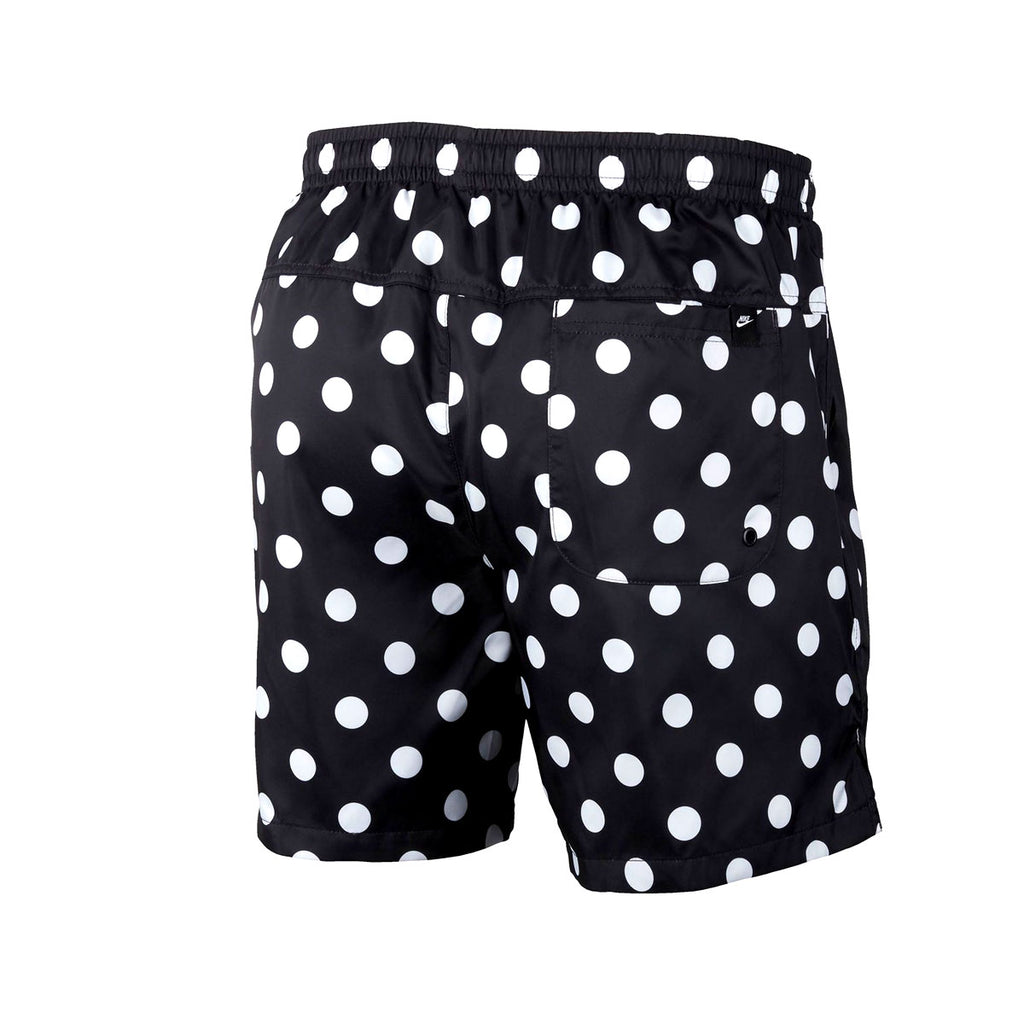 Nike Men's Sportswear JDI Dotted Woven Pool Shorts Black - KickzStore