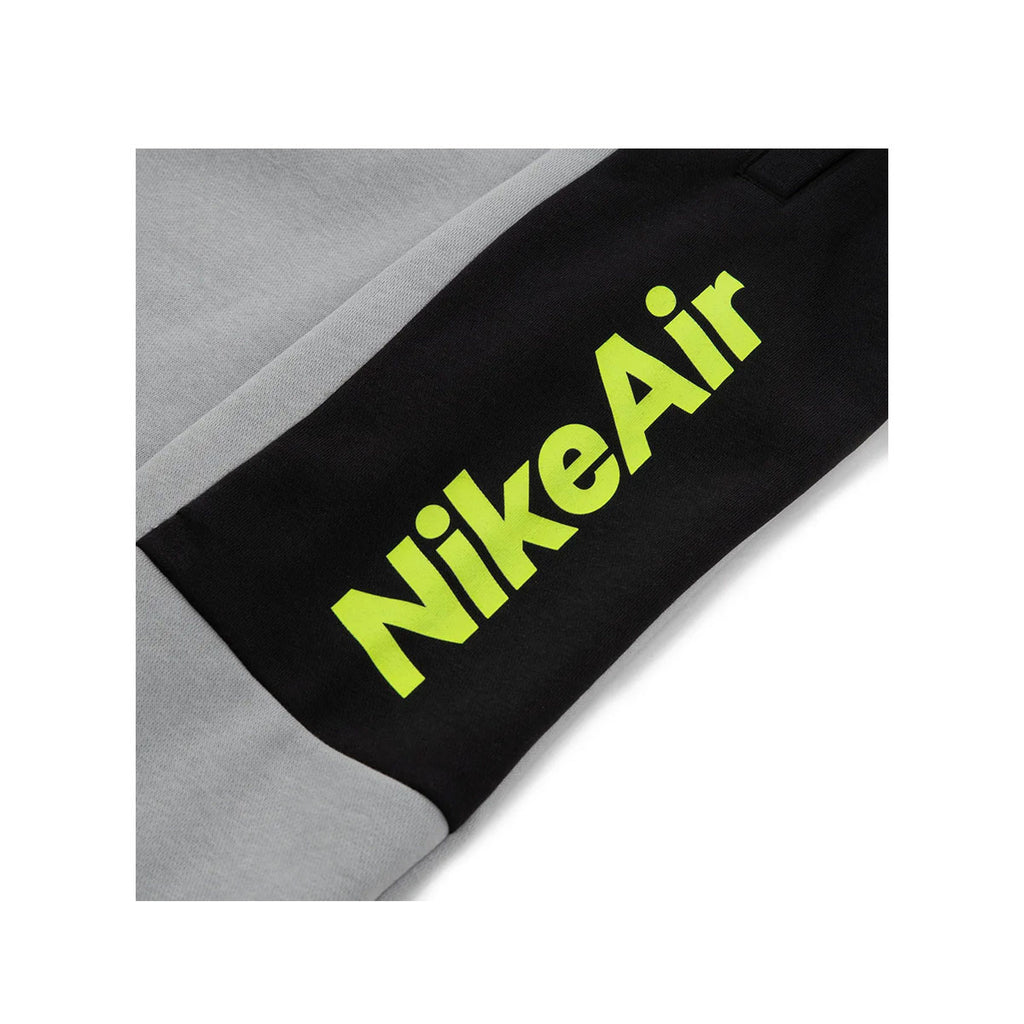 Nike Men's Nike Air Fleece Jogger Pants Light Smoke Grey Volt