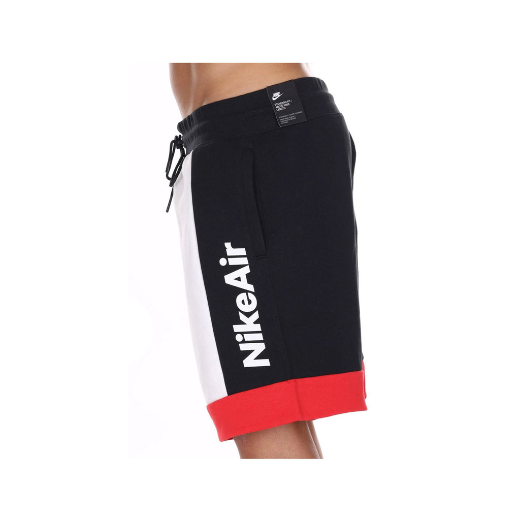 Nike Men's NSW Air Fleece Shorts Red Black - KickzStore