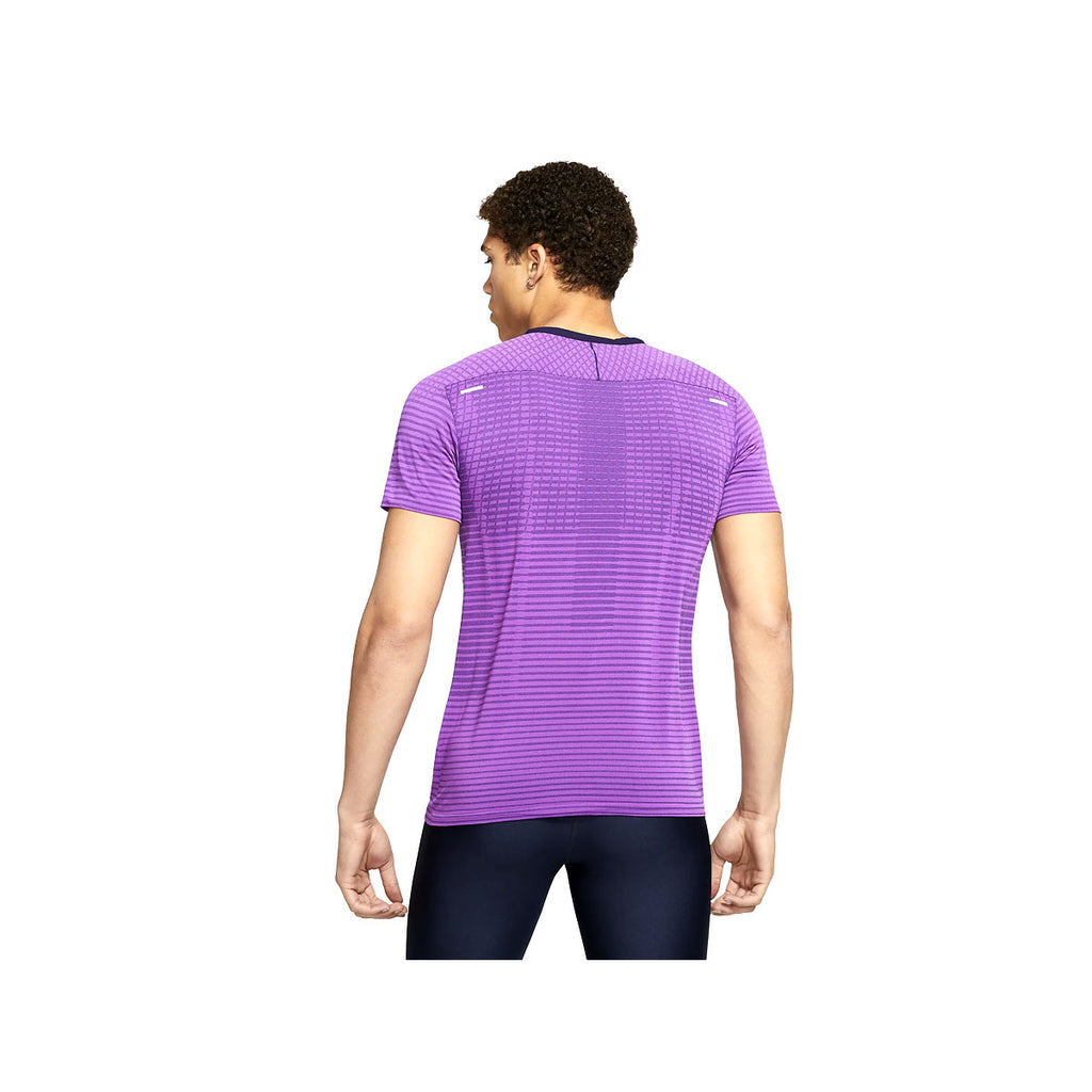 Nike Men's  TechKnit Ultra Purple Running Top - KickzStore