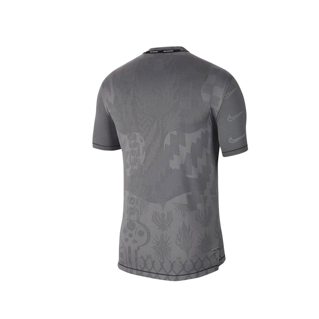 Nike Men's Tech Knit Wild Run Gray Shirt
