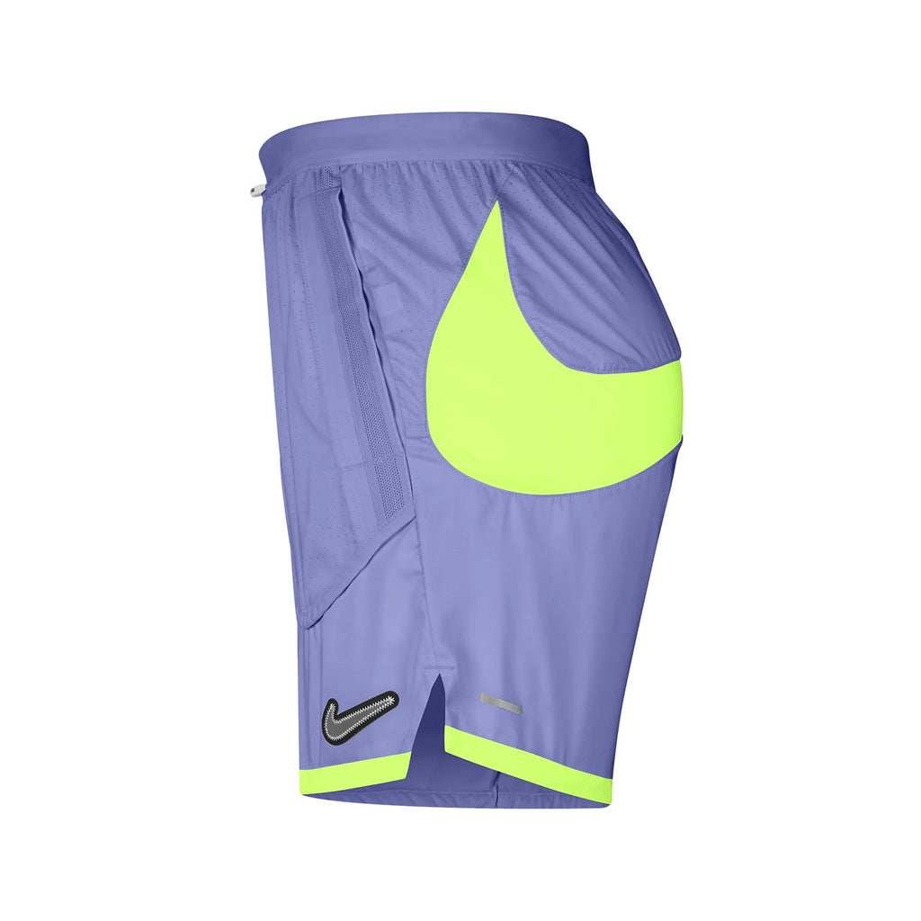 Nike Men's Flex Stride Wild Run 7'' Running Shorts Lavender Neon