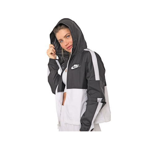 Nike Women's Core JKT Woven Jacket Black White