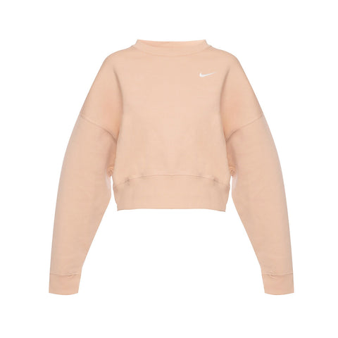 Nike Women's Sportswear Essential Fleece Cropped Crew Shimmer