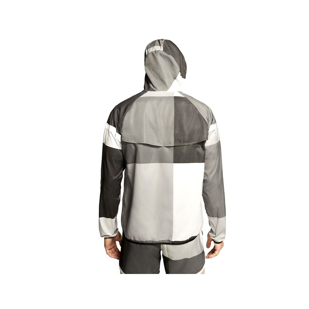 Nike Men's Windrunner Wild Run Repel Running Jacket Black Grey - KickzStore