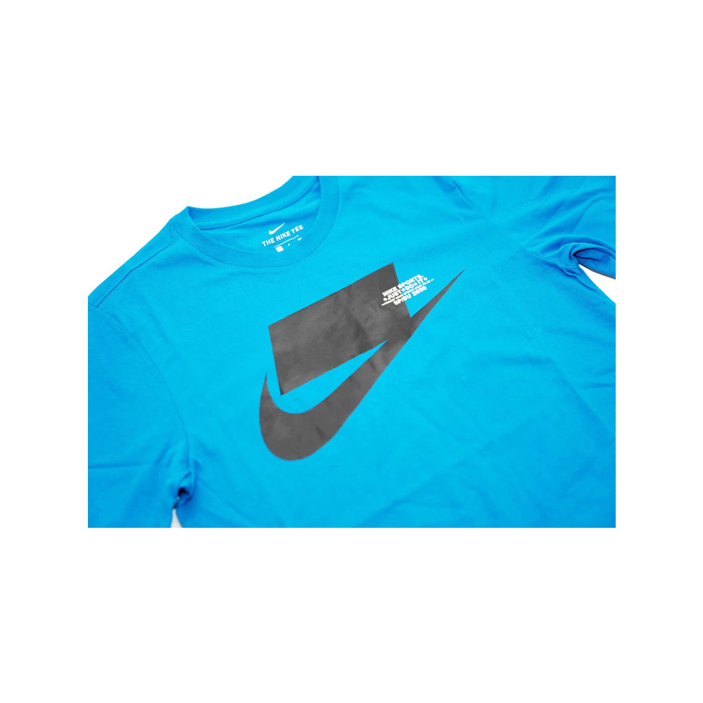 Nike Men's NSW Sportswear Sports Pack S/S 2020 Tee Battle Blue Black - KickzStore