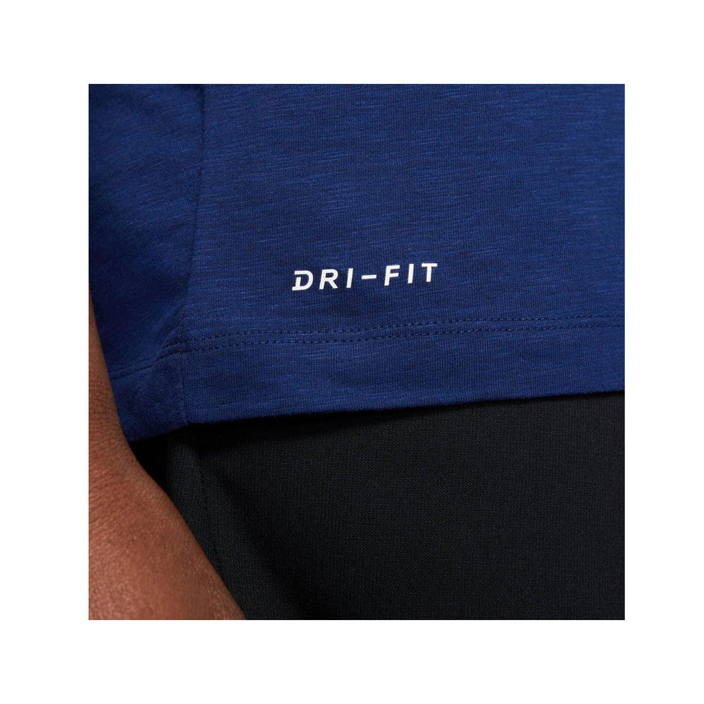 Nike Men's Dri-Fit JDI Logo Training T-Shirt Navy Blue - KickzStore