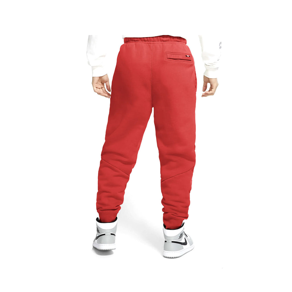 Air Jordan Men's Fleece Track Red Pants