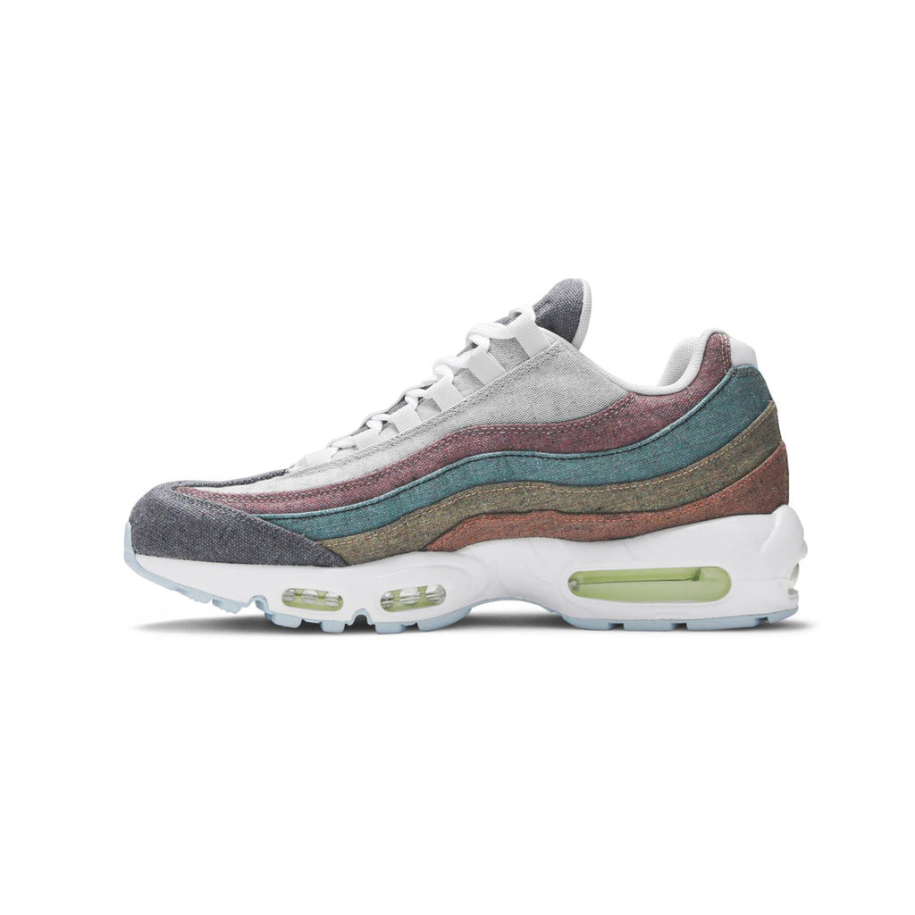 Nike Men's Air Max 95 Recycled Canvas Gray Multi