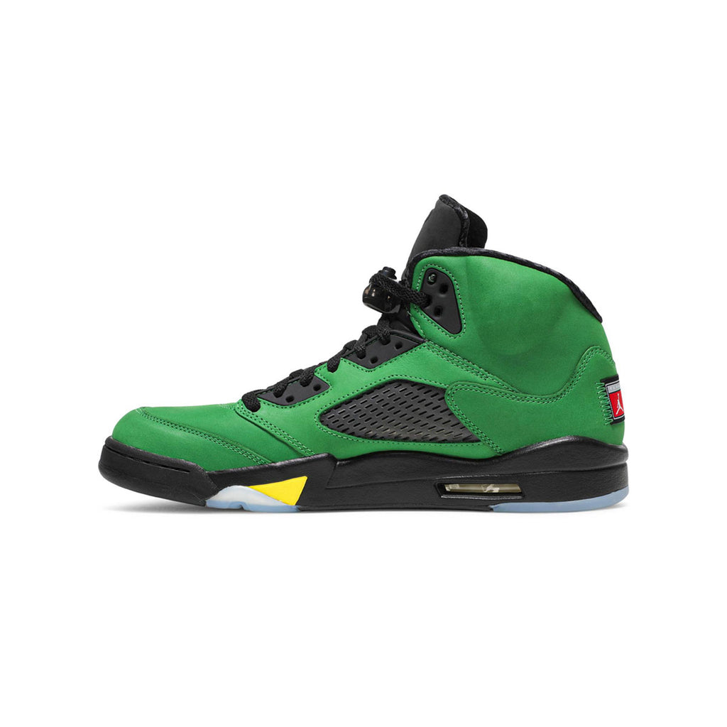 Air Jordan Men's 5 Retro Oregon Apple Green - KickzStore