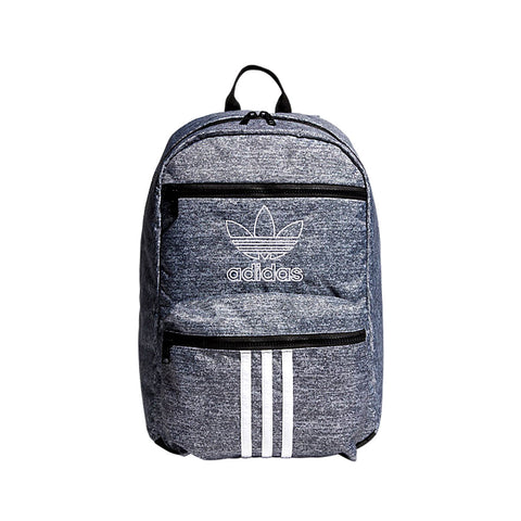Adidas Unisex National 3-Stripes Backpack Gray