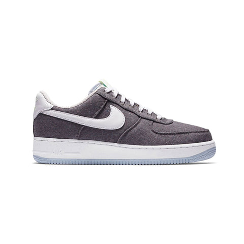 Nike Men's Air Force 1 '07 Low Recycled Canvas Gray - KickzStore