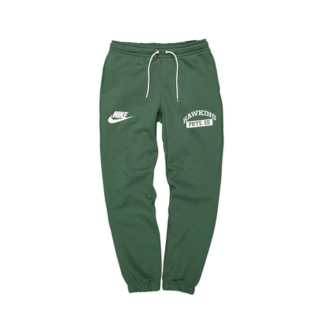 Nike Men's X Stranger Things Fleece Pants Green White
