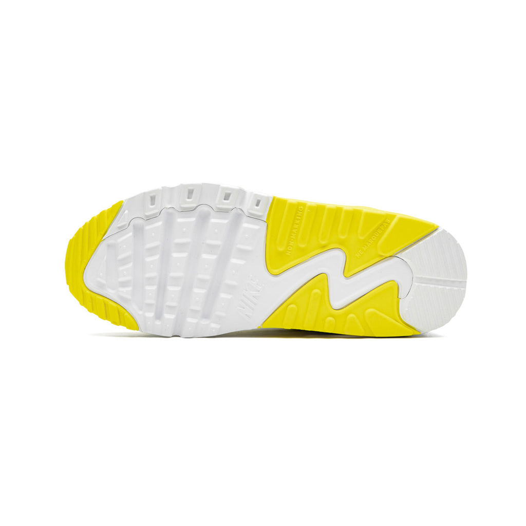 Nike Air Max 90 Undefeated White Opti Yellow (PS) - KickzStore