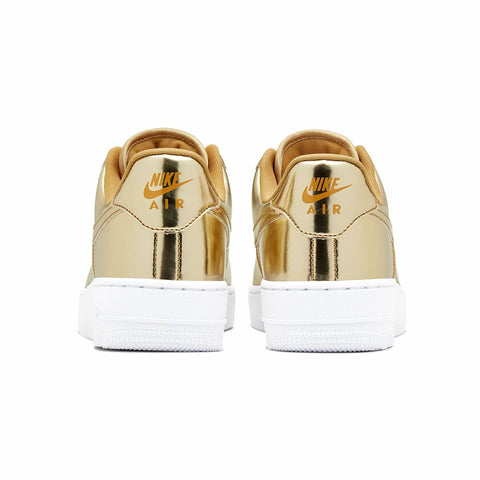 Nike Women's Air Force 1 SP Liquid Metallic Gold