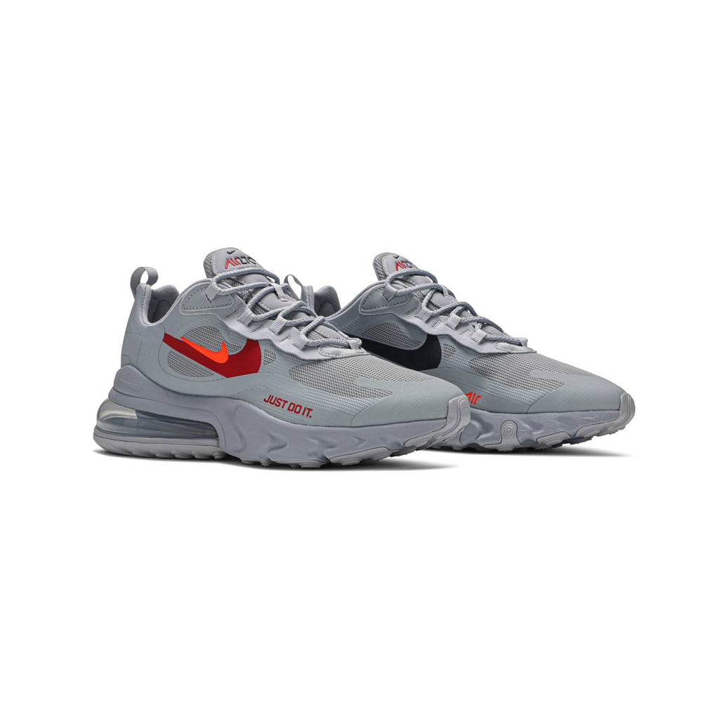 Nike Men's Air Max 270 React Just Do It Grey