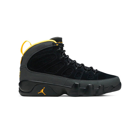 Air Jordan 9 Dark Charcoal University Gold - KickzStore