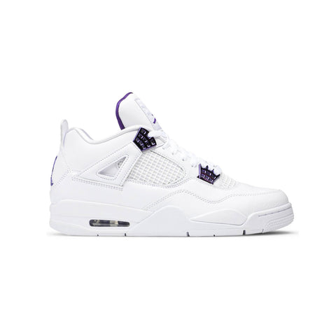 Air Jordan Men's 4 Retro Metallic Purple
