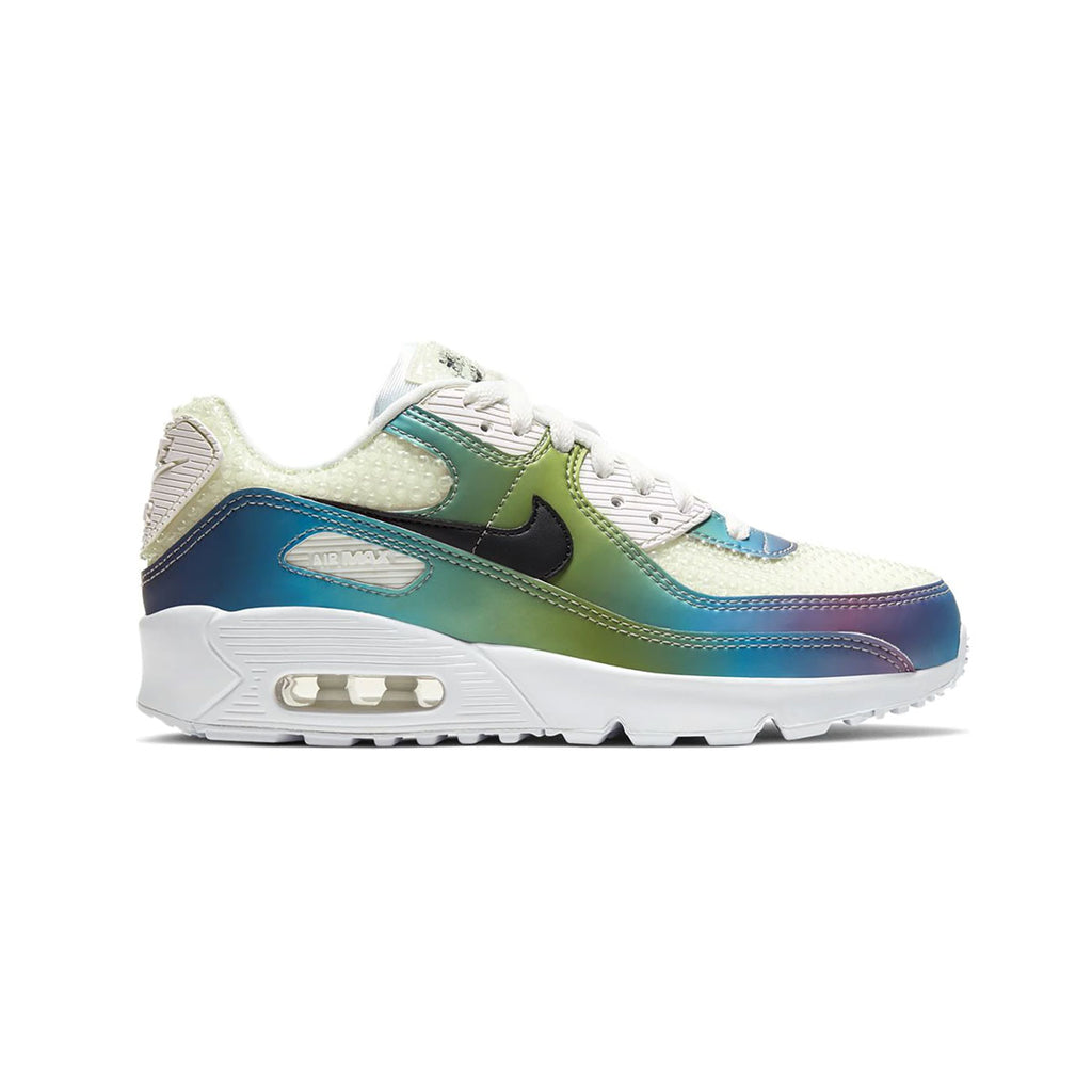 Nike Big Kid's Air Max 90 Bubble Pack White (GS)