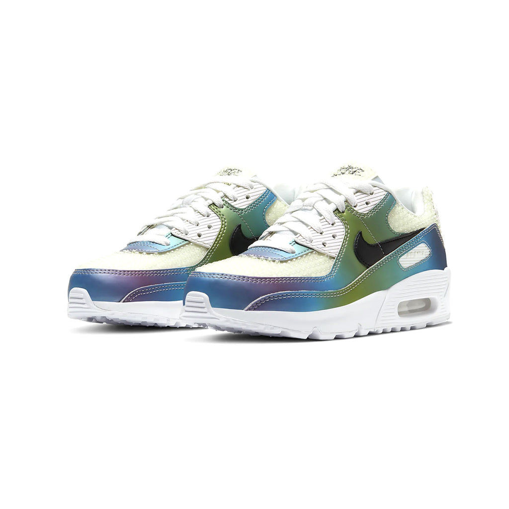 Nike Big Kid's Air Max 90 Bubble Pack White (GS) - KickzStore