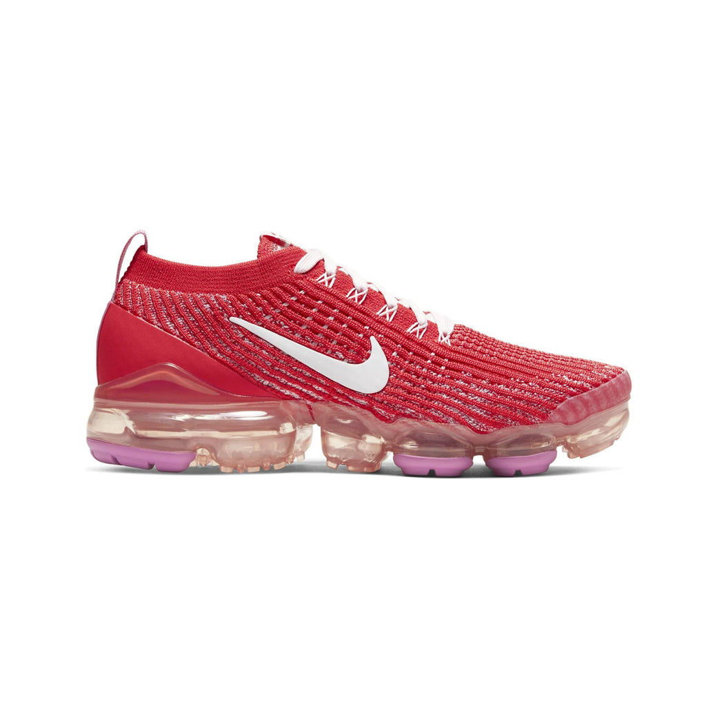 Nike Women's Air VaporMax Flyknit 3 Track Red - KickzStore