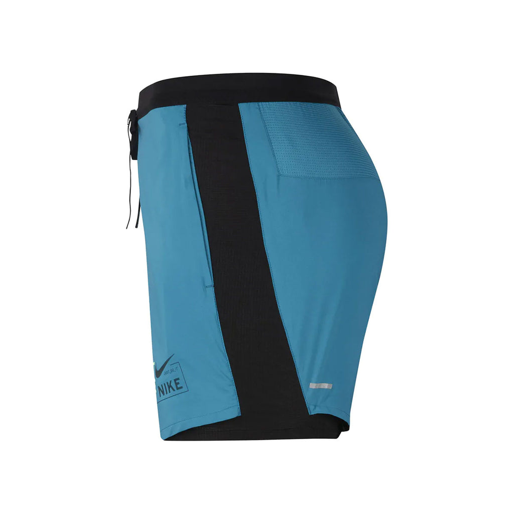 Nike Men's Flex Stride Future Fast 2 In 1 Running Shorts Teal Black - KickzStore