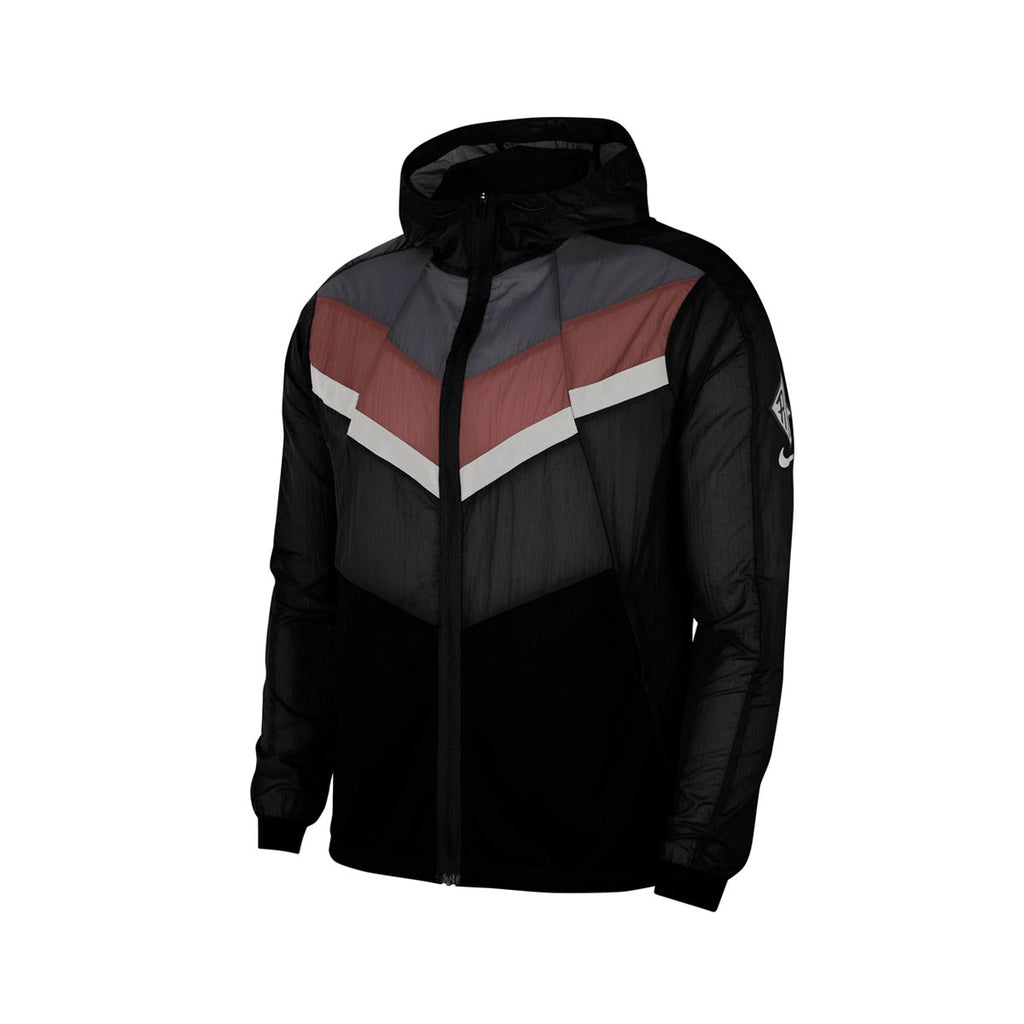 Nike Men's Wind Runner Wild Run Jacket Black Brown - KickzStore
