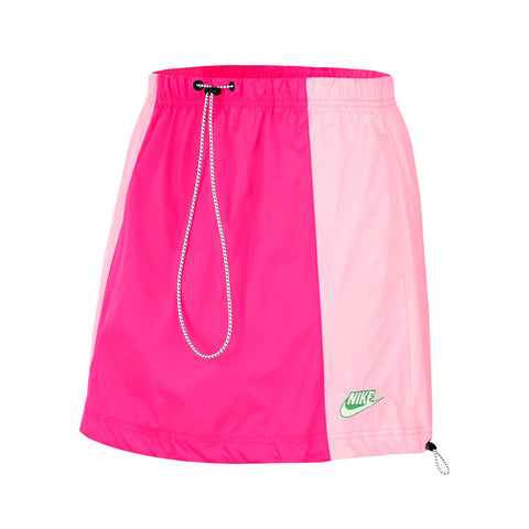 Nike Women's NSW Icon Clash Woven Skirt Pink