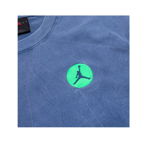 Air Jordan Men's AJ13 Legacy T-Shirt Blue Green - KickzStore