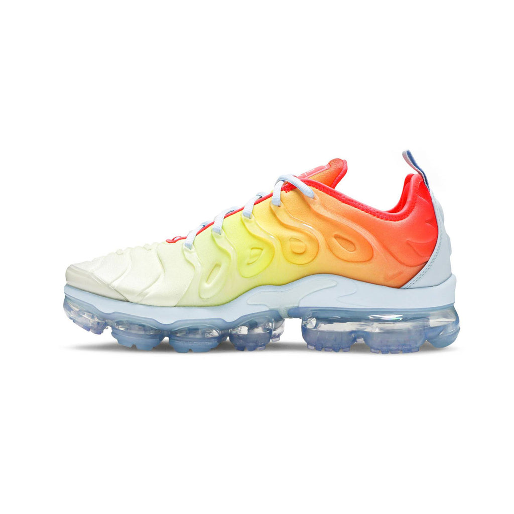 Nike Women's Air Vapormax Plus Sunrise Opti Yellow Laser Crimson - KickzStore
