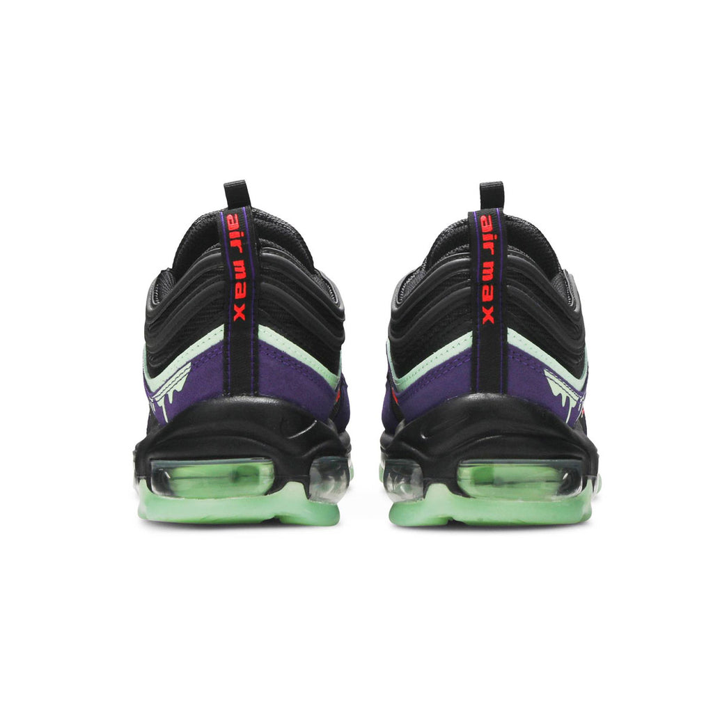 Nike Men's Air Max 97 Slime Halloween (2020) Black Purple - KickzStore