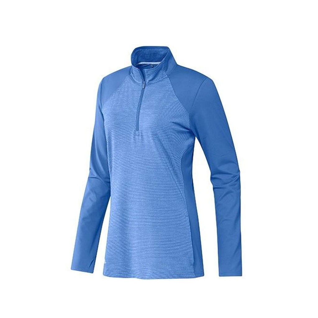 Adidas Women's Half Zip 'Real Blue'  Knit Jacket