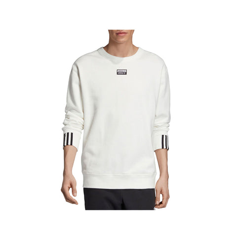 Adidas Men's Originals R.Y.V. Vocal Crew Sweatshirt White