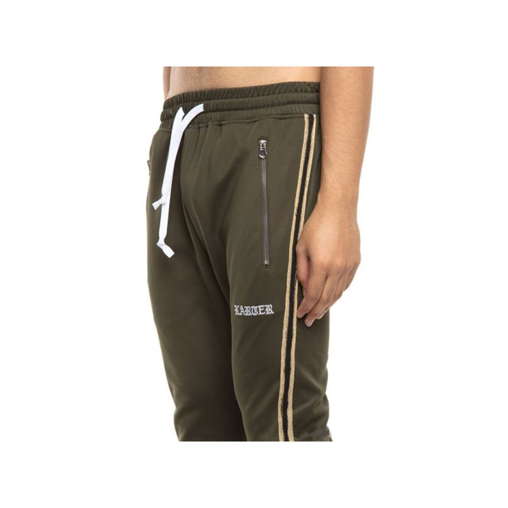EPTM Men's Track Pants Olive Gold Black - KickzStore