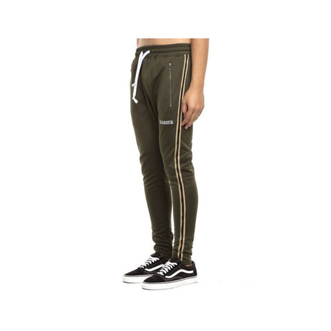 EPTM Men's Track Pants Olive Gold Black