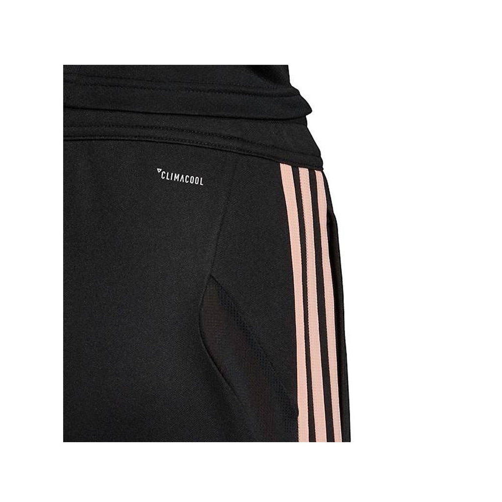 Adidas Women's Tiro 19 Black Glow Pink Soccer Training Pants