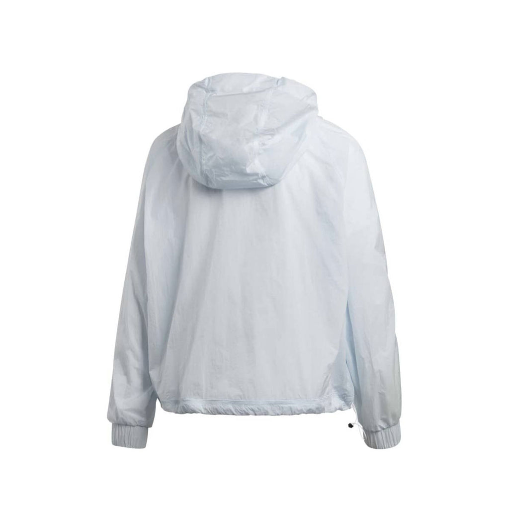 Adidas Women's Cropped WIND.RDY Light Blue Windbreaker
