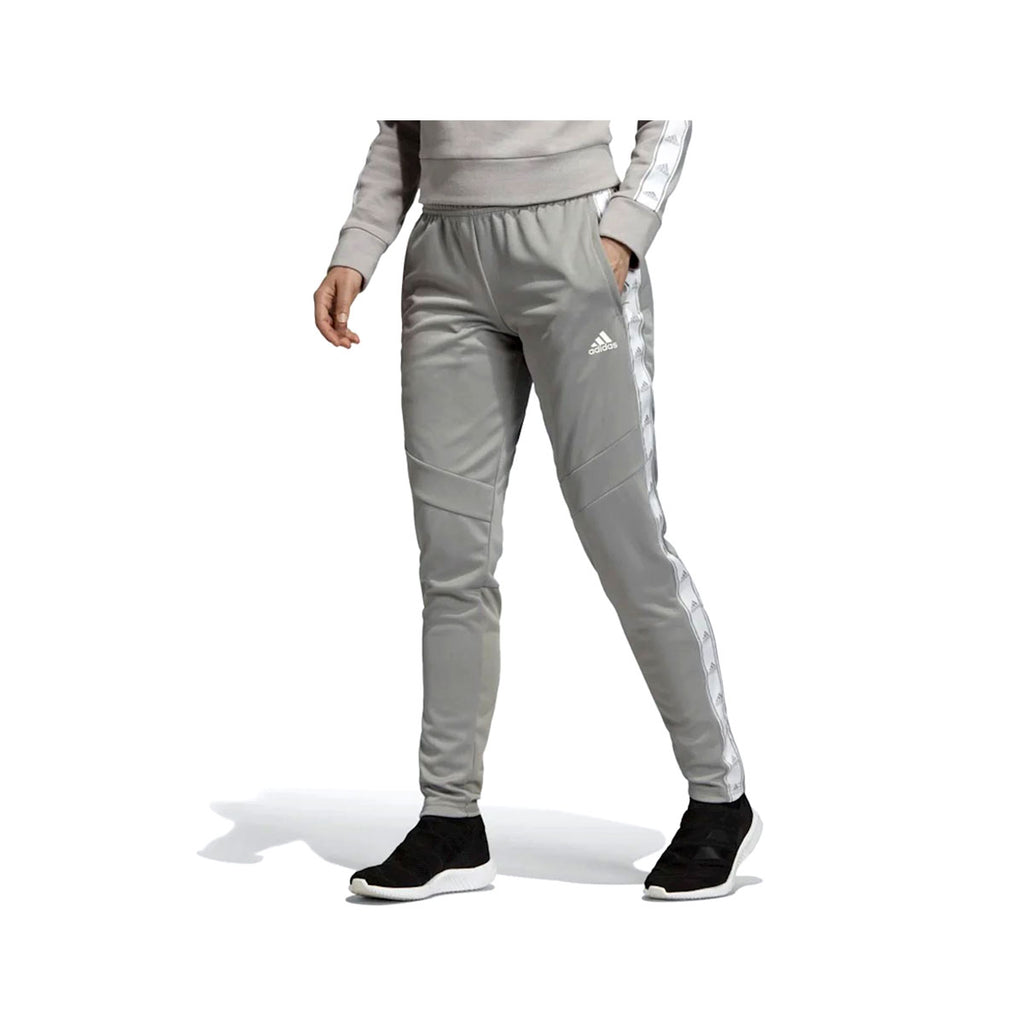 Adidas Women's Tiro 19 Training Pants Grey White - KickzStore