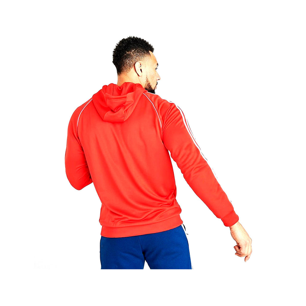 Adidas Men's Originals Superstar Pullover Hoodie Red - KickzStore