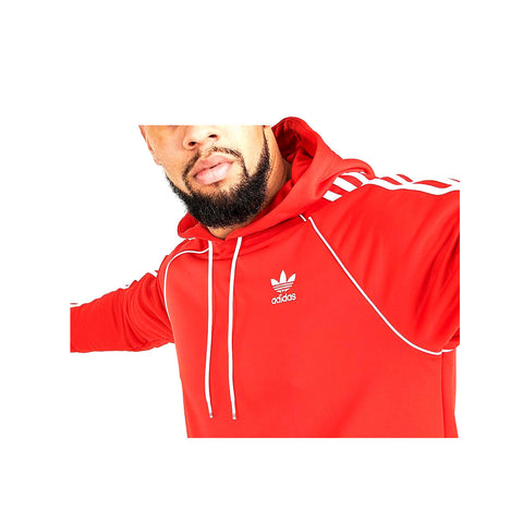 Adidas Men's Originals Superstar Pullover Hoodie Red