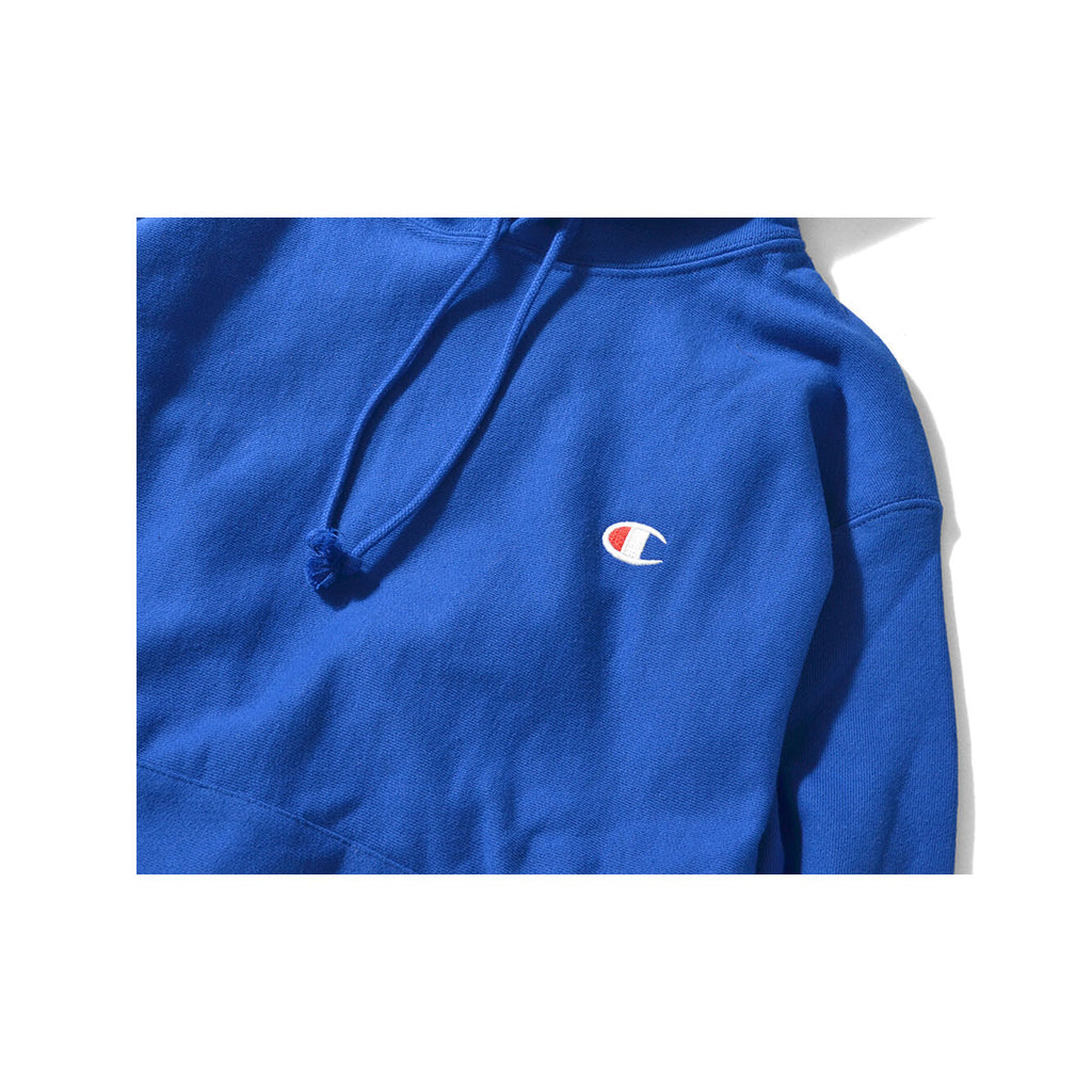 Champion Men's Life Reverse Weave Deep Blue Hoodie - KickzStore