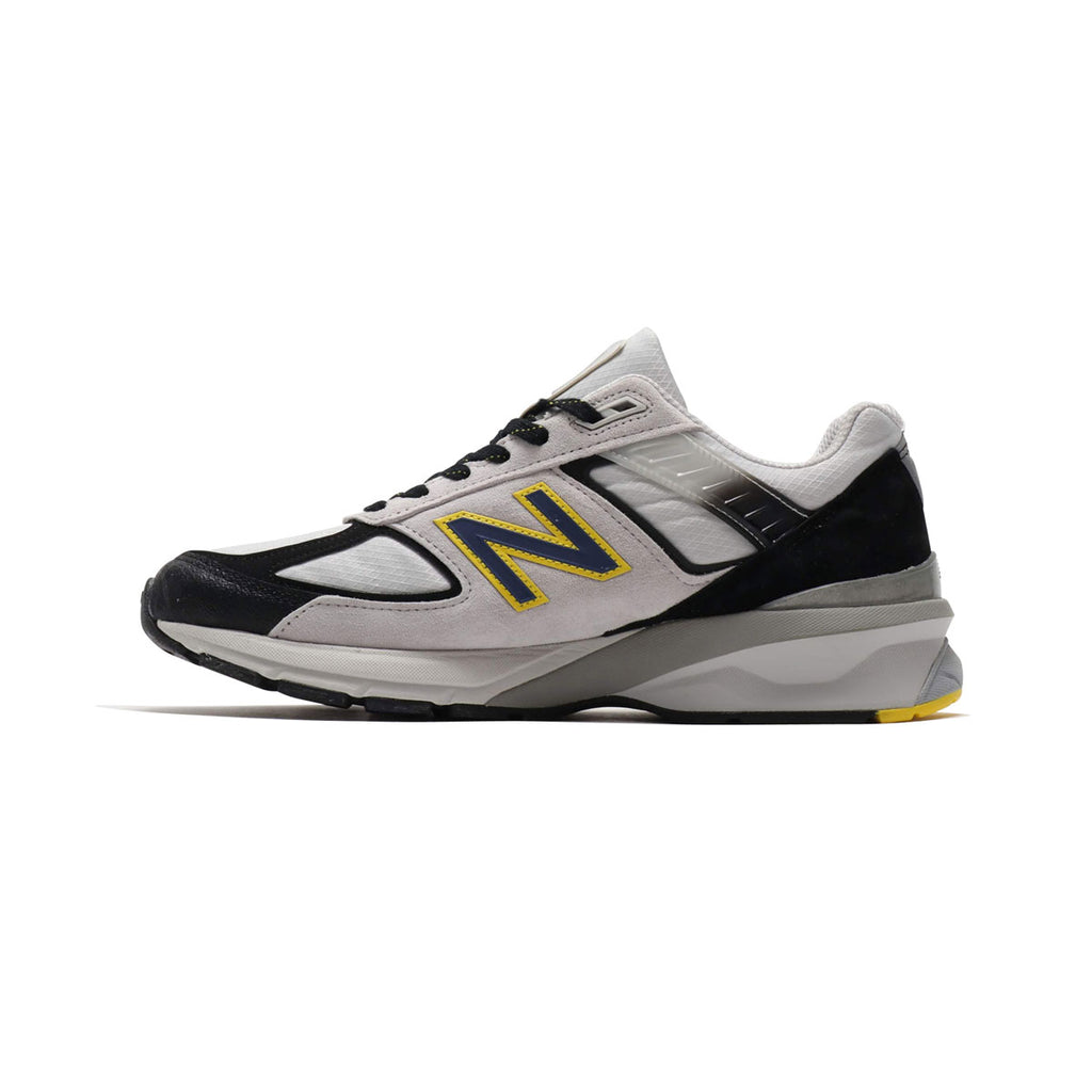 New Balance Men's 990 M990SB5 Made in USA White Silver Black Yellow