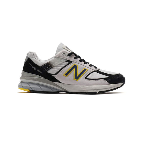 New Balance Men's 990 M990SB5 Made in USA White Silver Black Yellow - KickzStore