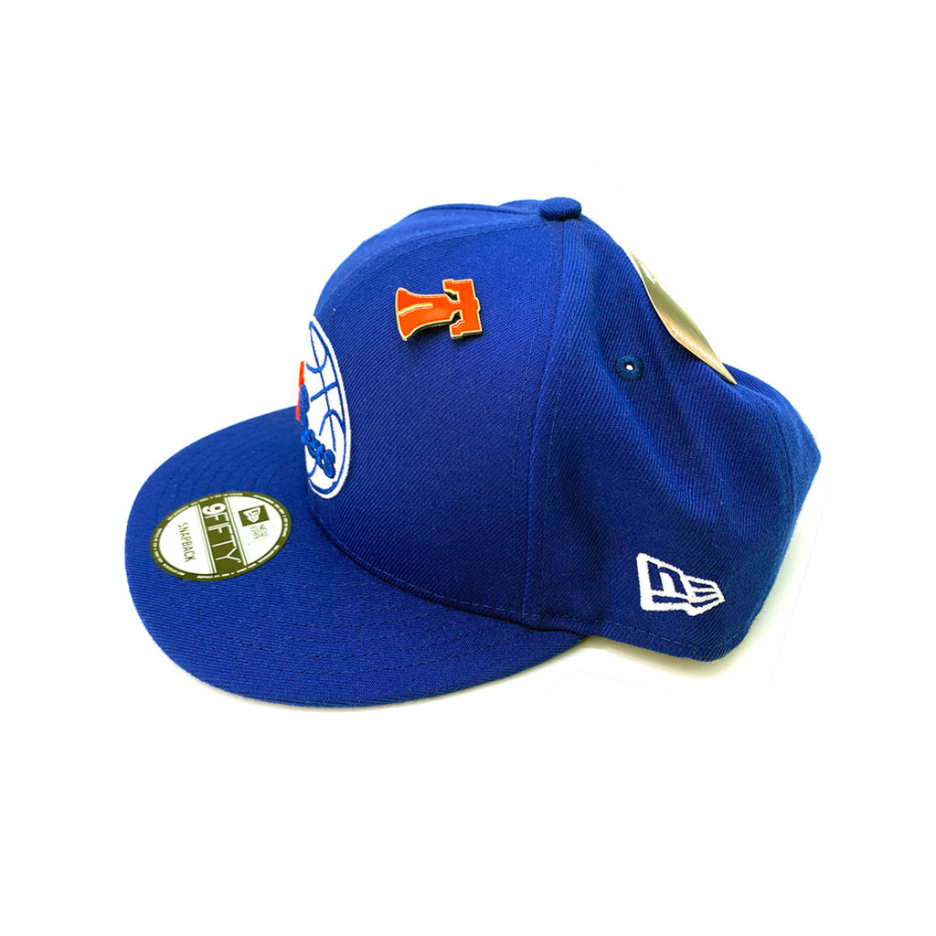 New Era 9FIFTY Philadelphia 76ers NBA 2018 Draft Blue Snapback Hat