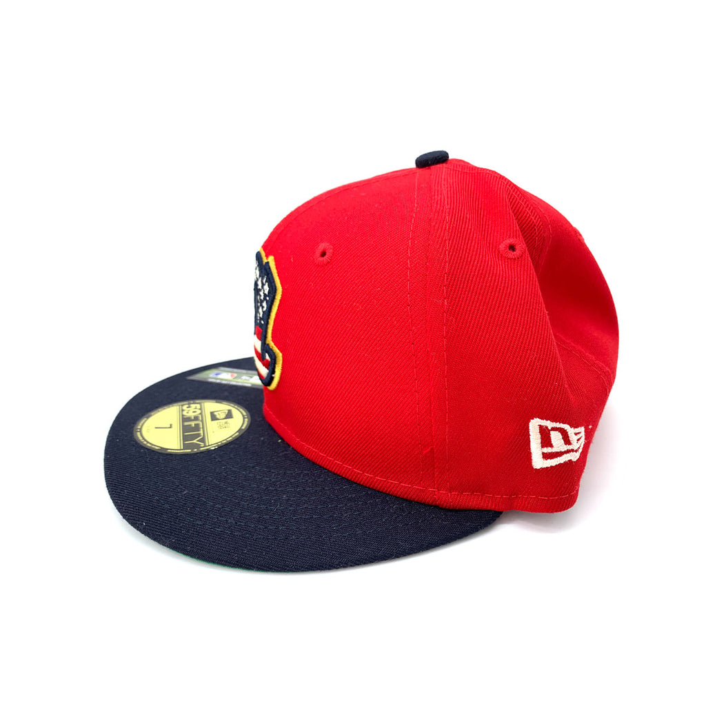 New Era 59FIFTY Atlanta Braves MLB 2019 4th of July Stars 7 Stripes Fitted Hat