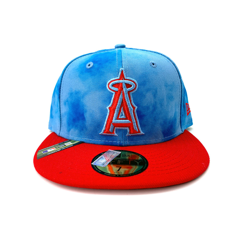 New Era 59FIFTY Los Angeles Angels 2019 MLB Father's Day On-Field Sky Fitted Hat