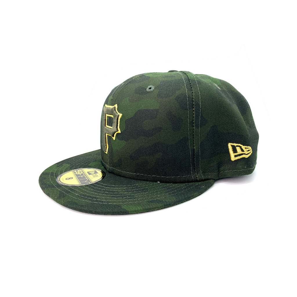 New Era 59FIFTY Pittsburgh Pirates 2019 MLB Armed Forces Day On-Field Fitted - KickzStore