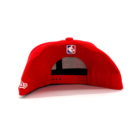 New Era 9FIFTY Houston Rockets Draft Snapback Hat Red