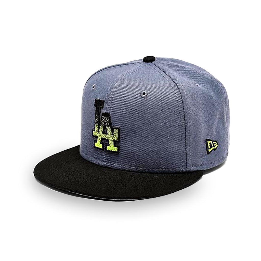 New Era Los Angeles Dodgers MLB Slate Black 9FIFTY Snapback Hat - KickzStore
