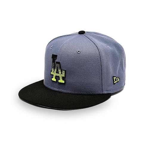 New Era Los Angeles Dodgers MLB Slate Black 9FIFTY Snapback Hat